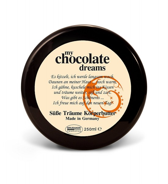 "BRUBAKER Happiness ""My Chocolate Dreams"" Body Butter Schoko, 250 ml"